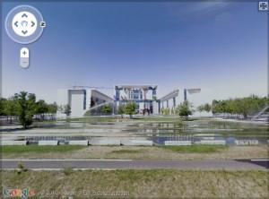 Street-View-Bild des Bundeskanzleramts