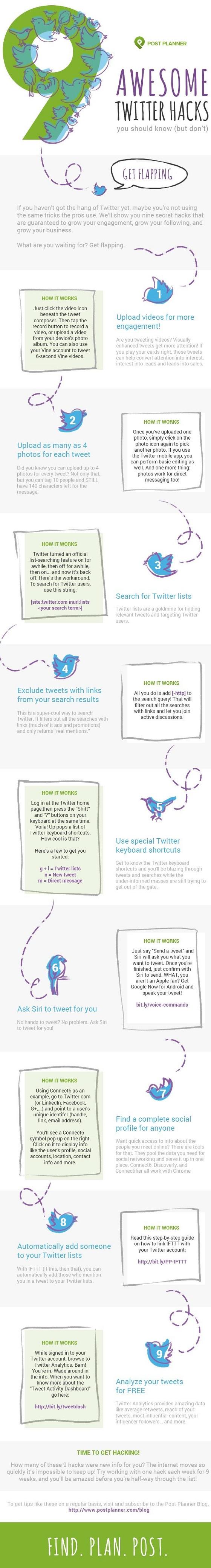 Tipps & Tricks: 9 sinnvolle Twitter-Hacks, die man kennen