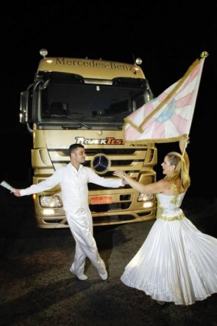 Daimler beim Karneval in Rio