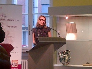 Daniela Antonin. Vize-Chefin des Hetjens-Museums