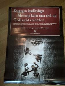 Plakat vom Deutschen Anwaltverein für Erbrechtsanwälte