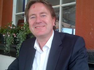 Frank Behrend, Geschäftsführer der PR-Agentur FischerAppelt