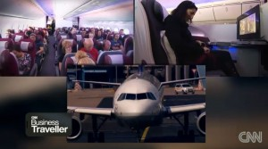 Reiseverhalten im Flugzeug - CNN