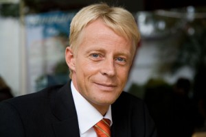 Volker Greiner, Vice President North & Central Europe der Fluggesellschaft Emirates