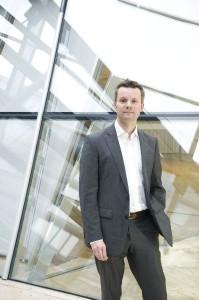 Michael Siemer, Chef von Westendmedien (Fotograf:Achim Multhaupt)