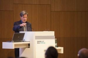 """Sprachprofessor Peter Eisenberg im Rahmen der Veranstaltungsreihe """"Dialog im Museum"""""""