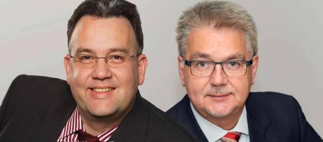 Autoren-Team: Berater Jörg Forthmann und ...professor x Rolke