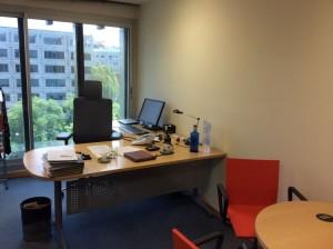Büro von Burkhart Goebel von Hogan Lovells