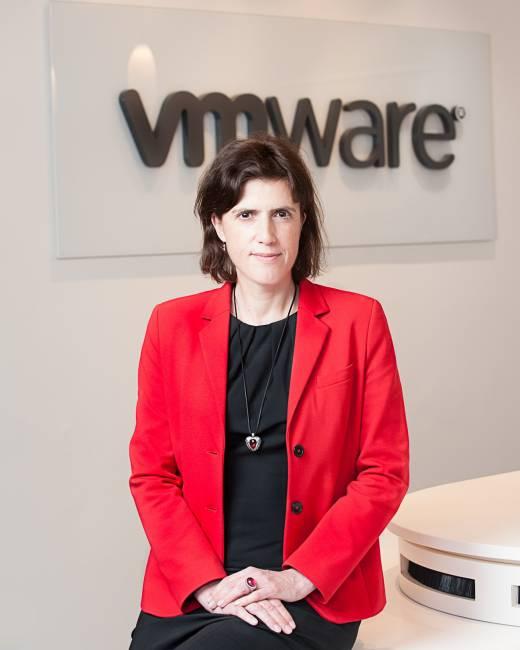 Simone Frömming, Deutschland-Chefin von VMware, einer der Top-Ten-Softwarehersteller weltweit