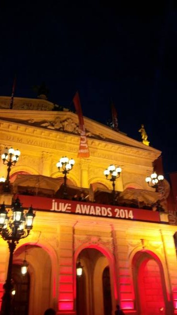 Juve Awards 2014 in der Alten Oper in Frankfurt