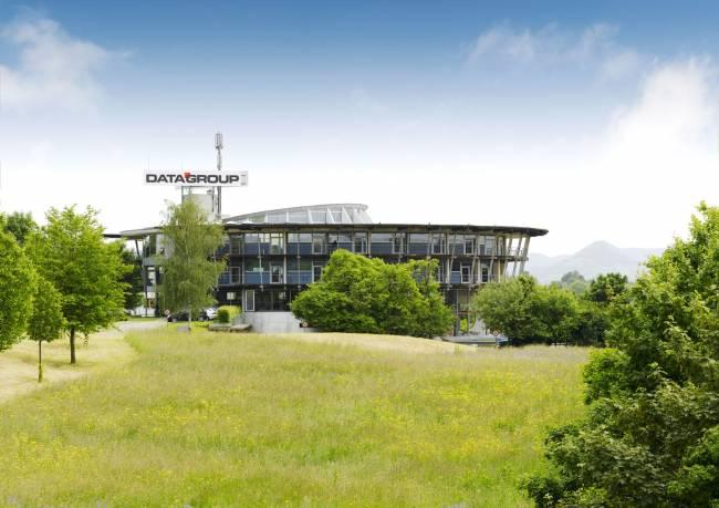 Datagroup-Firmenzentrale in Pliezhausen bei Stuttgart