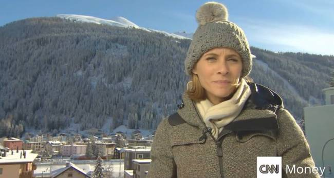 Nina Dos Santos, Wirtschaftsmoderatorin bei CNN