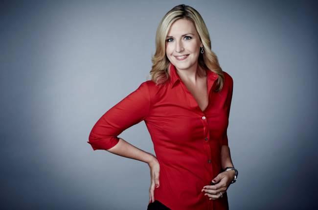 CNN-Moddderatorin Poppy Harlow (Bild: