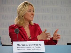 Bundesfamilienministerin Manuela Schweswig (Foto: Matthias Struwe)