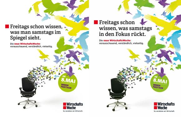 """""""WiWo""""-Anzeigenmotive, die """"Spiegel"""" und Focus"""" nicht haben wollten"""