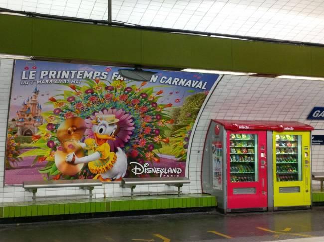 U-Bahn-Station: Metro in Paris