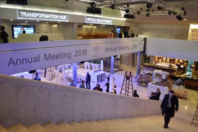 WEF in Davos bevor es losgeht (Foto: CNN International)