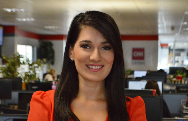 Eleni Giokos von CNN (Foto: CNN International)