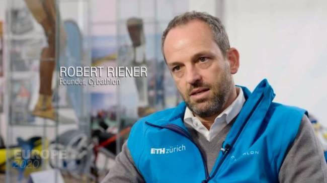Robert Riener (Foto: CNN International)