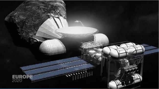 Weltraumforschung aus Luxemburg (Foto: CNN International)