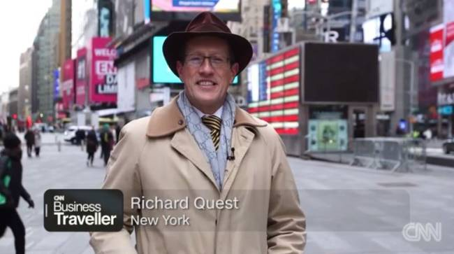 Richard Quest, Kultmoderator bei CNN (Foto: CNN International)